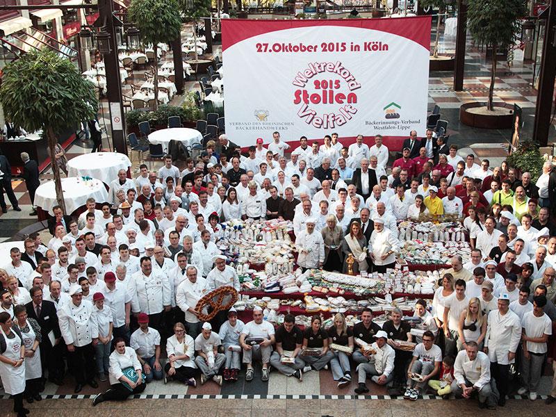 Weltrekord der Stollenvielfalt in Köln