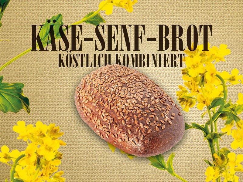 Unser Brot des Monats im Februar – das Käse-Senf-Brot