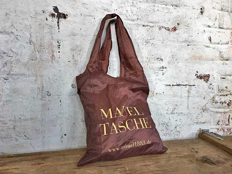 Einkaufen mit unseren Mauel-Taschen