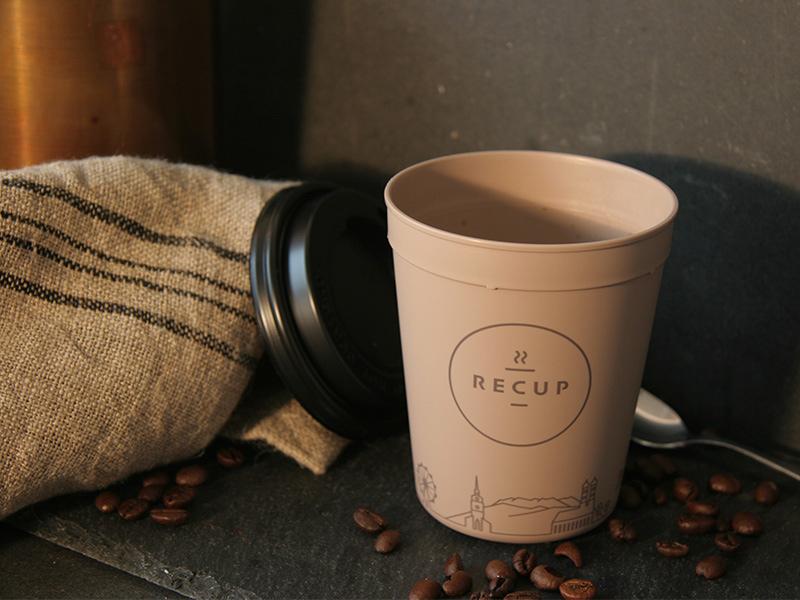 Kaffee ToGo im umweltverträglichen Pfandbecher
