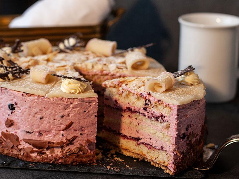 Waldfrucht-Torte
