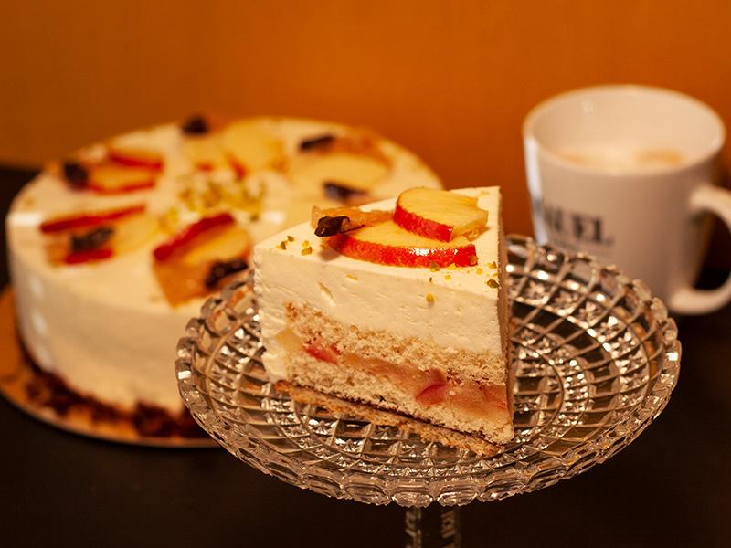 Apfel-Weinsahne-Torte