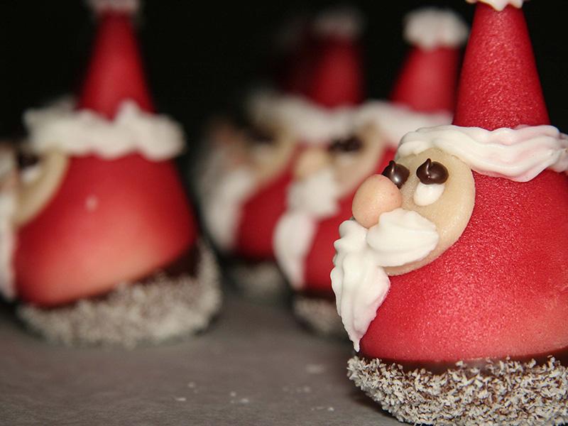 …in der Weihnachtsbäckerei…