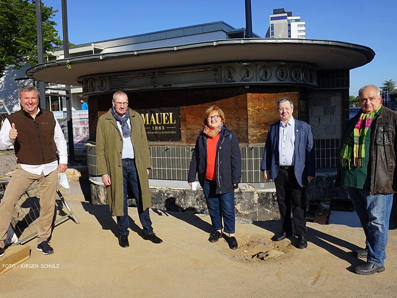 Legendärer Kiosk in Bonn – das Bundesbüdchen